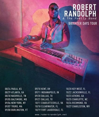 robert randolph, robert randolph & the family band, robert randolph fall tour, robert randolph 2019 tour, robert randolph music, robert randolph pedal steel, robert randolph solo