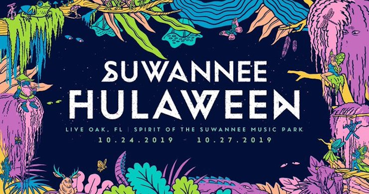 Suwannee Hulaween, Suwannee Hulaween 2019, Suwannee Hulaween 2019 lineup, Suwannee Hulaween tickets, Suwannee Hulaween string cheese incident, Suwannee Hulaween anderson paak