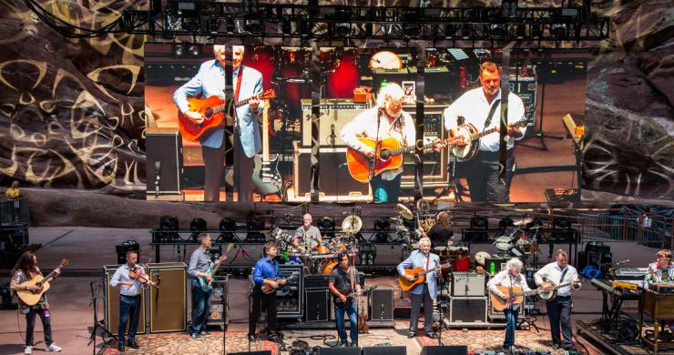 SCI, Del McCoury, Del McCoury Band, String Cheese Incident red rocks