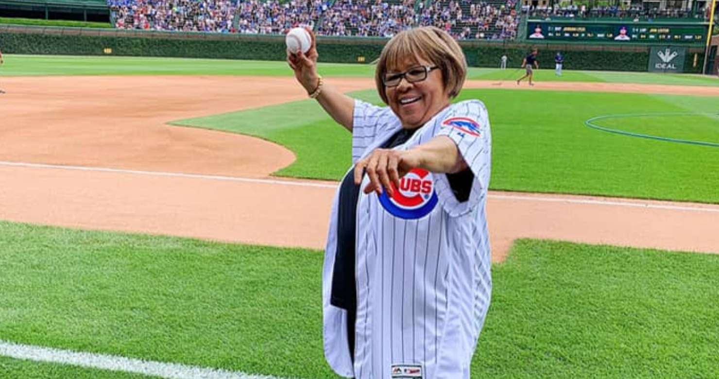 "Watch Mavis Staples Sing ""Take Me Out To The Ballgame"" At Wrigley Field [Video]"