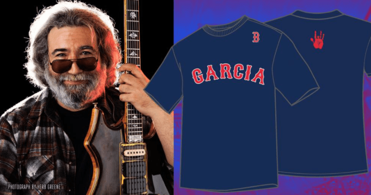 JErry Garcia, Red Sox Jerry Day, Boston Red Sox Jerry Garcia, Red Sox Grateful Dead