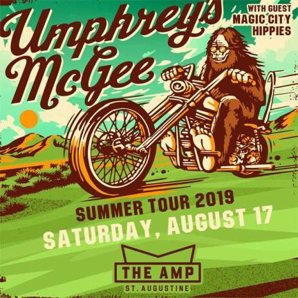 Umphreys, Umphrey's McGee, Umphreys St. Augustine, Umphreys The Amp, Umphrey's McGee The Amp
