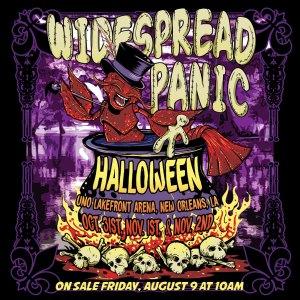 Widespread Panic, WSP, Widespread Panic Halloween
