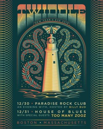 twiddle, twiddle 2019, twiddle new year's eve, twiddle boston, twiddle tickets
