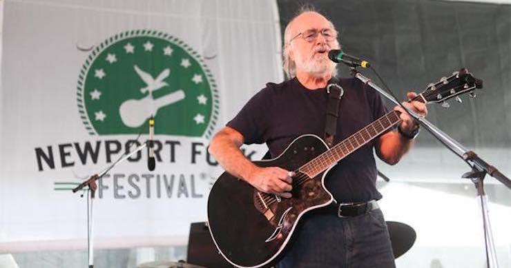 Revisit Robert Hunter's 2014 Performance At Newport Folk Festival [Full-Show Audio]