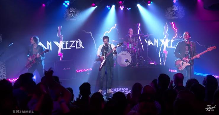 Weezer, Weezer End of the Game, Weezer Jimmy Kimmel, Weezer Kimmel, Weezer live, weezer video