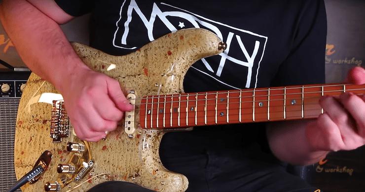 art mayer ramen guitar