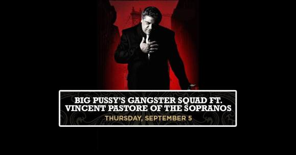 Vincent PAstore, Big Pussy, Big Pussy's Gangster Squad, The Sopranos