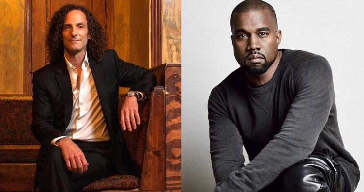 Kenny G Kanye West, Kanye West Kenny G, Kanye Kenny G Collab, kanye west, kenny g