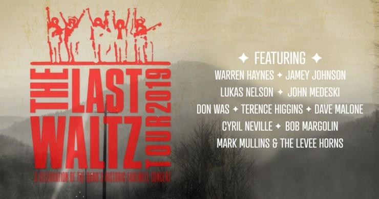 the last waltz tour, the last waltz tour tickets, the last waltz tour lineup, The last Waltz, the band, the band last waltz