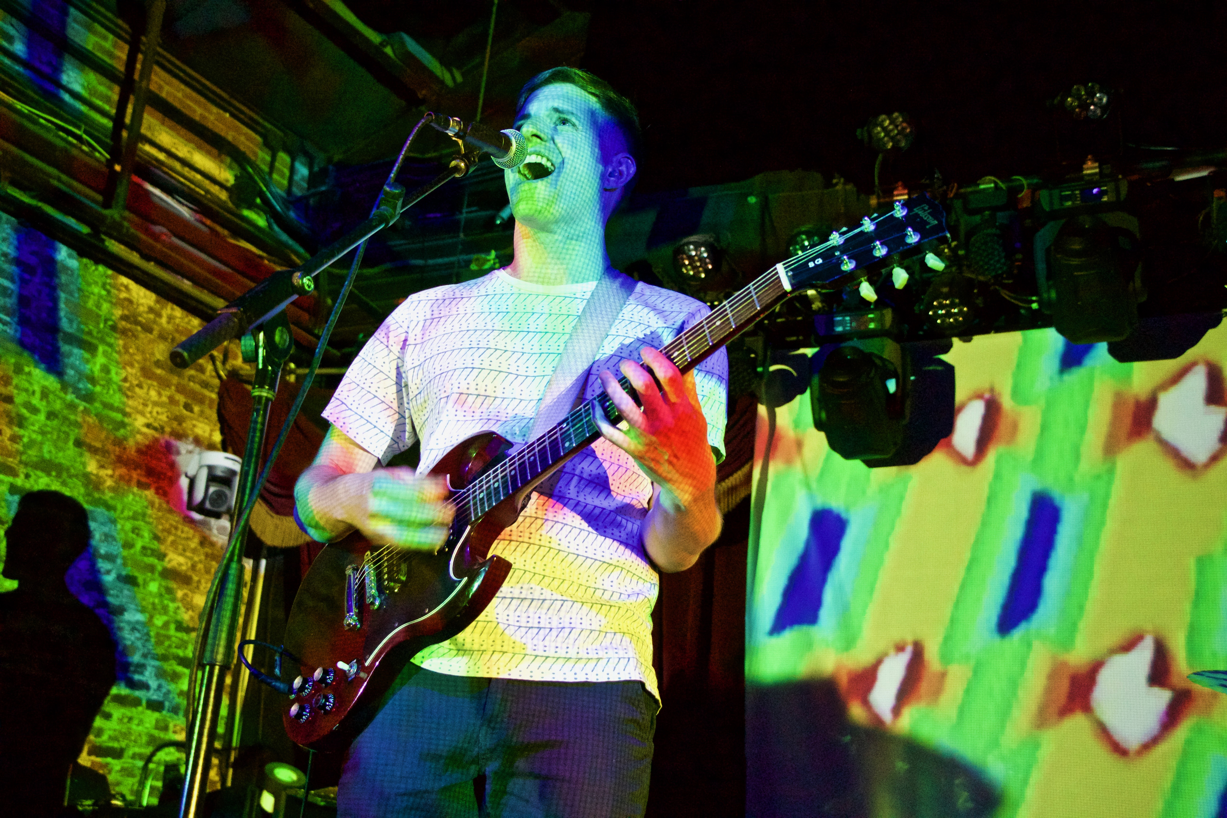 High Time Welcomes Yo La Tengo's Ira Kaplan For Thrilling Performance At Brooklyn Bowl [Photos]