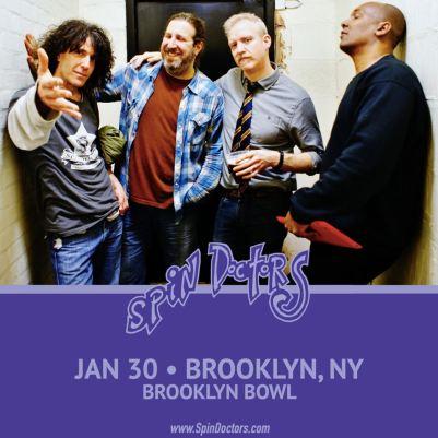 Spin Doctors Brooklyn Bowl
