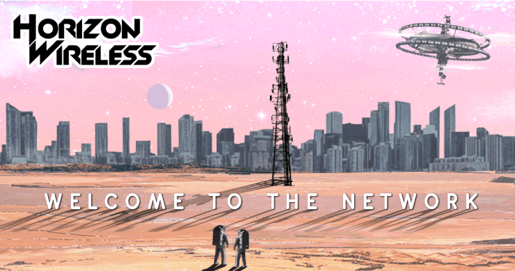 Horizon Wireless, welcome to the network, electronic music