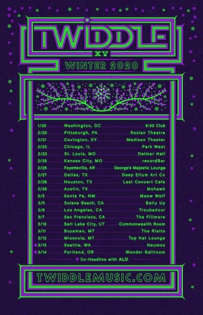twiddle, twiddle 2020, twiddle winter tour, twiddle tour, twiddle tickets, twiddle music, twiddle mihali, twiddle alo