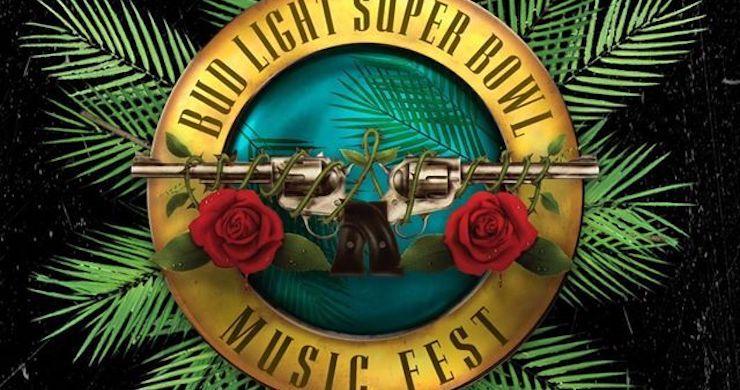 Budweiser Christmas Lights 2020 Bud Light Super Bowl Music Fest Announces 2020 Lineup: Guns N