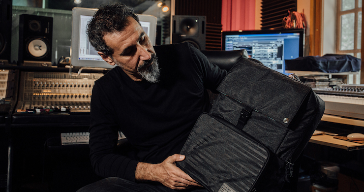 Serj Tankian Shares Unreleased Music Through New Augmented Reality Backpack