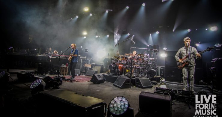 Phish, Split Open and Melt, North Charleston, night two, pro-shot, video, jam, Little Drummer Boy, Crosseyed and Painless, Jon Fishman, Trey Anastasio, Page McConnell, Mike Gordon, fall tour