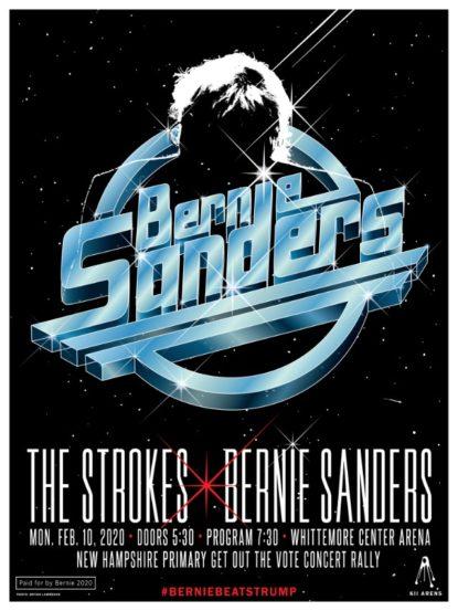 The Strokes Bernie Sanders