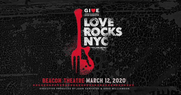 Love Rocks NYC Announces Lineup For 2020 Benefit Concert: Dave Matthews, Warren Haynes, Marcus King, More