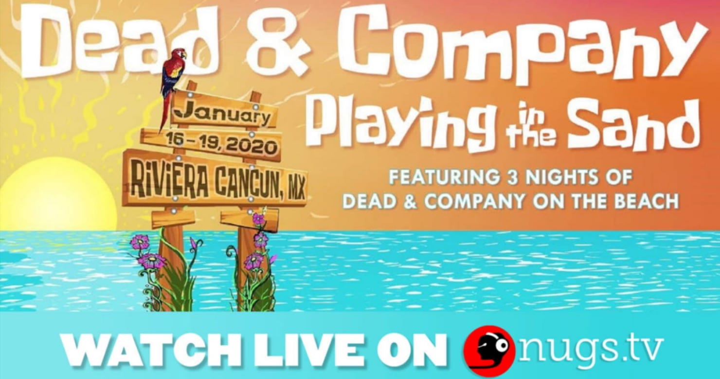 Dead & Company Announces Playing In The Sand 2020 Live Streams