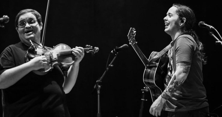 Billy Strings, Headliners Music Hall, Michael Cleveland, sit in, tour, 2020, live,
