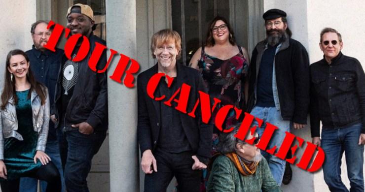 trey anastasio band, trey anastasio, trey anastasio band tour, trey anastasio band tour canceled, trey anastasio cancelled