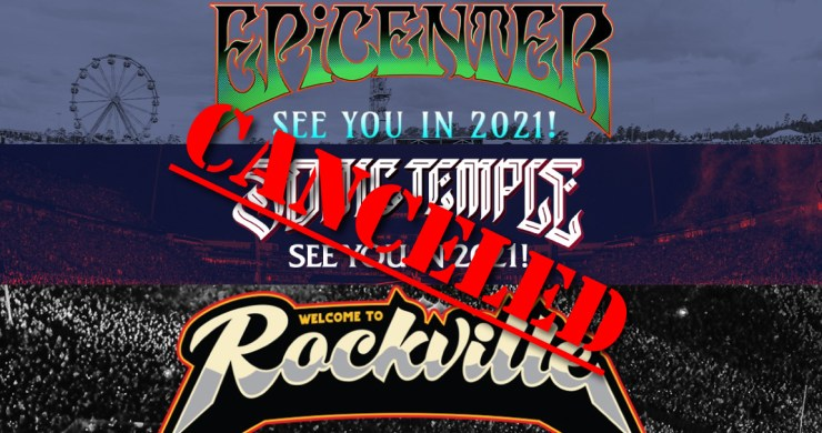 Epicenter, Sonic Temple, Welcome To Rockville, Danny Wimmer Presents, Danny Wimmer Presents canceled, Epicenter canceled, Sonic Temple canceled, Welcome To Rockville canceled