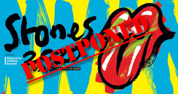 the rolling stones, the rolling stones no filter, the rolling stones tour, the rolling stones postponed, the rolling stones 2020