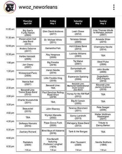 WWOZ, WWOZ new orleans, WWOZ jazz fest, jazz fest stream, jazz fest 2020