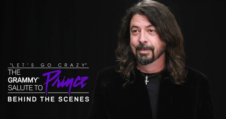 dave grohl prince, dave grohl led zeppelin, dave grohl prince story, dave grohl, prince, grammy salute to prince, prince foo fighters, foo fighters prince