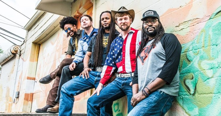 Gangstagrass nickel dime blues, gangstagrass single, no time for enemies, gangstagrass album, new release