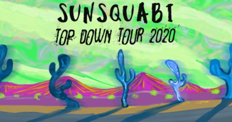 Sunsquabi top down tour, sunsquabi summer tour, sunsquabi 2020 tour, sunsquabi summer 2020 top down tour, sunsquabi virtual tour