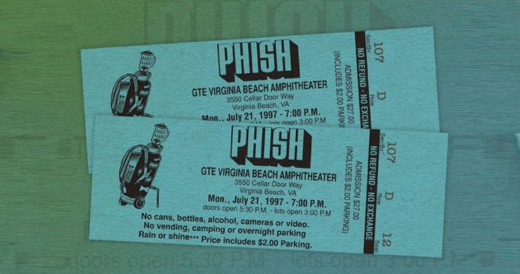 phish, phish stream, phish webcast, phish dinner movie 1997, phish 1997, phish 7/21/97, phish stream virginia beach, phish virginia beach, phish virginia beach 1997, phish leroi moore, leroi moore phish