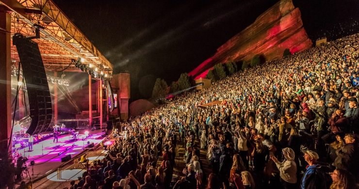 Colorado, Colorado outdoor concerts, Colorado safer at home, Colorado coronavirus, Colorado reopen, Red Rocks Amphitheatre, Governor Jared Polis, Jared Polis, Colorado governor
