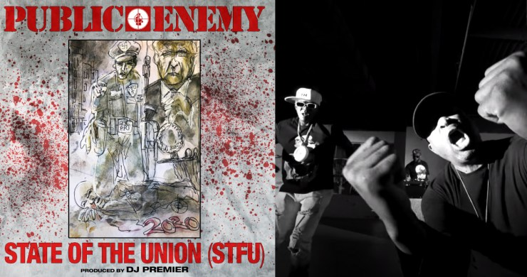 state of the union stfu, public enemy state union, public enemy state of the union, chuck D, flavor flav, public enemy donald trump, public enemy