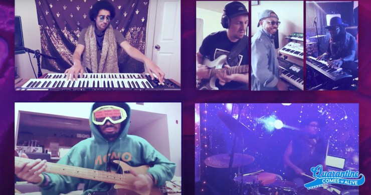 prince, quarantine comes alive, quarantine comes alive prince, quarantine comes alive purple party, purple party prince, purple party prince video, mononeon, ghost-note
