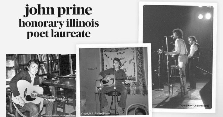 John Prine, John Prine poet laureate, John Prine Illinois, John Prine Illinois poet laureate, john prine death
