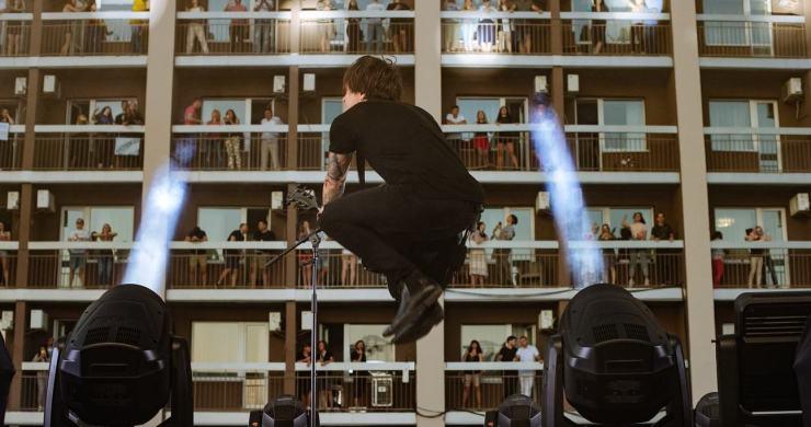 vertical concerts, vertical concerts ukraine, drive in concerts, socially distant concerts, bartislava hotel, bartislava hotel concerts, o.torvald, o.torvald concert, hotel concert