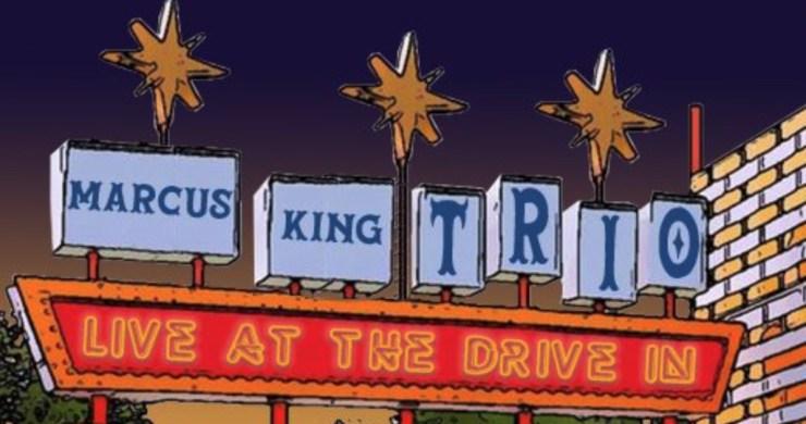 marcus king, marcus king drive-in, marcus king trio drive in, marcus king live at the drive in
