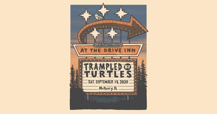 Trampled Turtles live stream, trampled turtles mchenry, trampled turtles drive in, trampled turtles drive in live stream