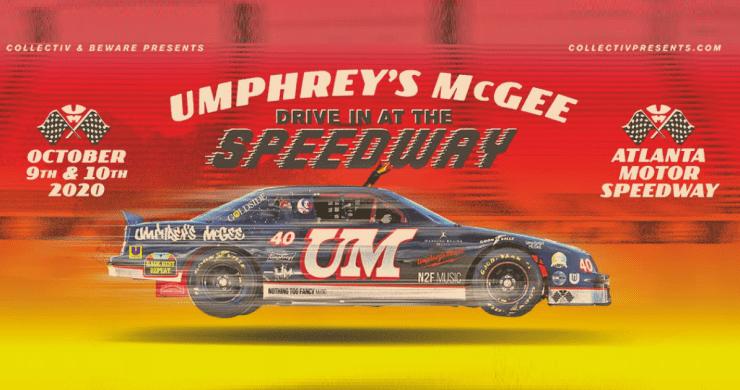 Umphrey's atlanta motor speedway, umphrey's mcgee atlanta, umphrey's mcgee drive-in, umphrey's mcgee atlanta motor speedway