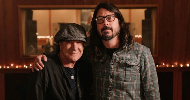 dave grohl, brian johnson, dave grohl meets brian johnson, sky arts, sky arts free, brian johnsons a life on the road, brian johnson show, foo fighters, nirvana, ac/dc
