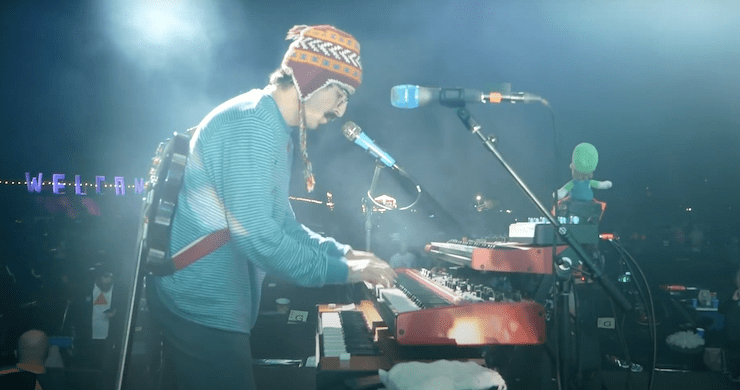 Goose Shares Pro-Shot Bon Iver Cover From Maryland Drive-In Performance [Watch]