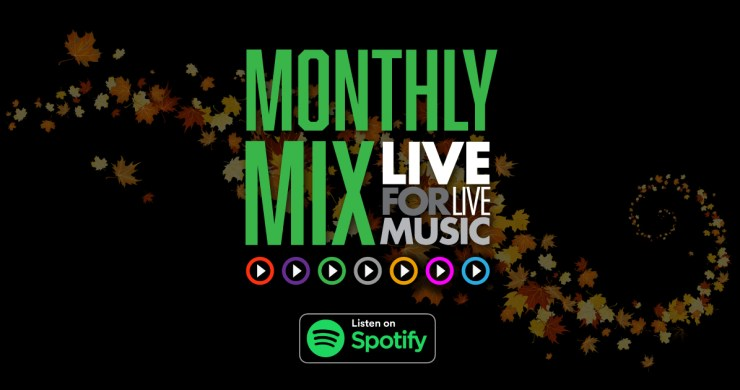 l4lm monthly mix. live for live music monthly mix, monthly playlist, l4lm monthly mix october, l4lm monthly mix october 2020