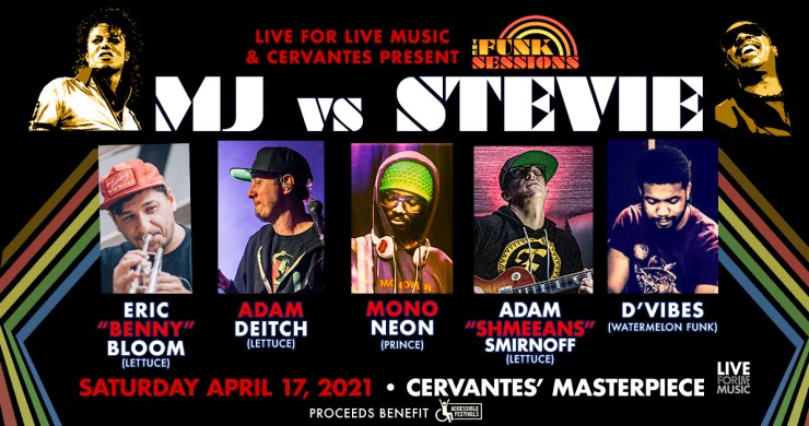 funk sessions, the funk sessions, mj vs. stevie, michael jackson, stevie wonder, adam deitch, mononeon, d'vibes, adam schmeeans smirnoff, benny bloom, funk sessions denver, funk session cervantes, live music denver, funk sessions mj stevie