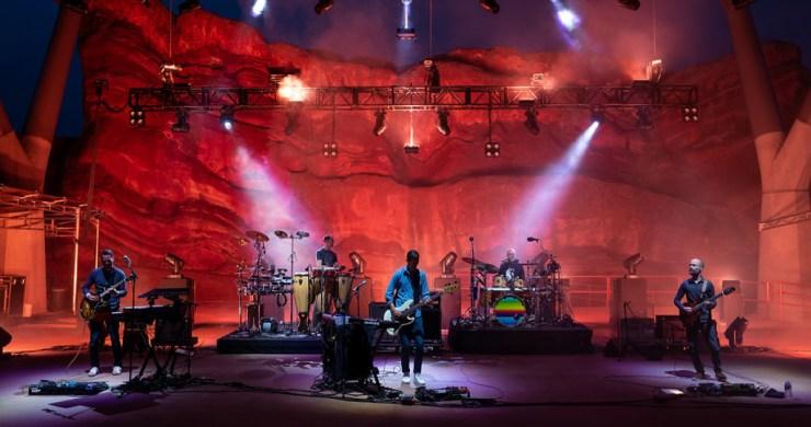 LOTUS RED ROCKS, LOTUS RED ROCKS PHOTOS, lotus photos, lotus music