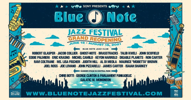 blue note, blue note nyc, blue note reopening, nyc concerts, central park concerts, blue note jazz fesetival, blue note jazz festival 2021,