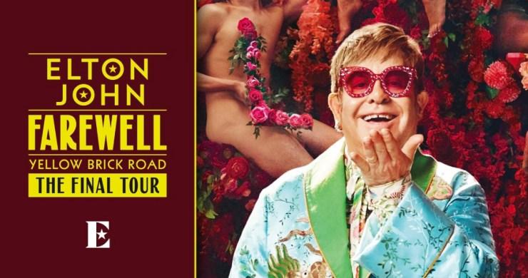 elton john, elton john tour, elton john final tour, elton john farewell yellow brick road, elton john tour dates, elton john tour dates 2022, elton john tickets