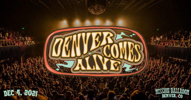 denver comes alive, denver comes alive 2021, denver comes alive 2021 lineup, denver comes alive lineup, denver comes alive ramble on revival, ramble on revival, ramble on revival oteil, oteil burbridge, holly bowling, judith hill, circles around the sun, tank and the bangas