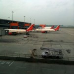 Air India planes sitting on Tarmac